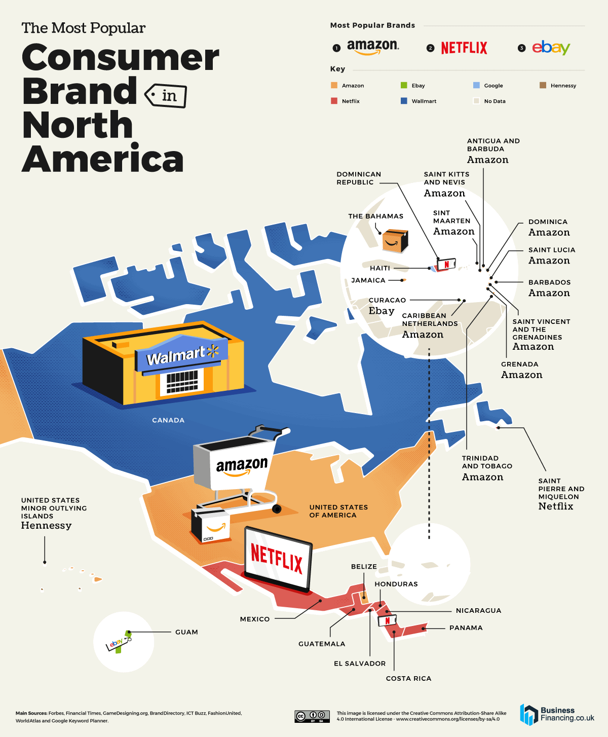 The Most Popular Consumer Brand in Every Country