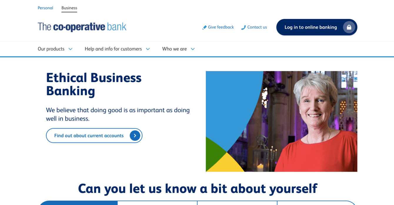 Co-operative Bank Business Banking