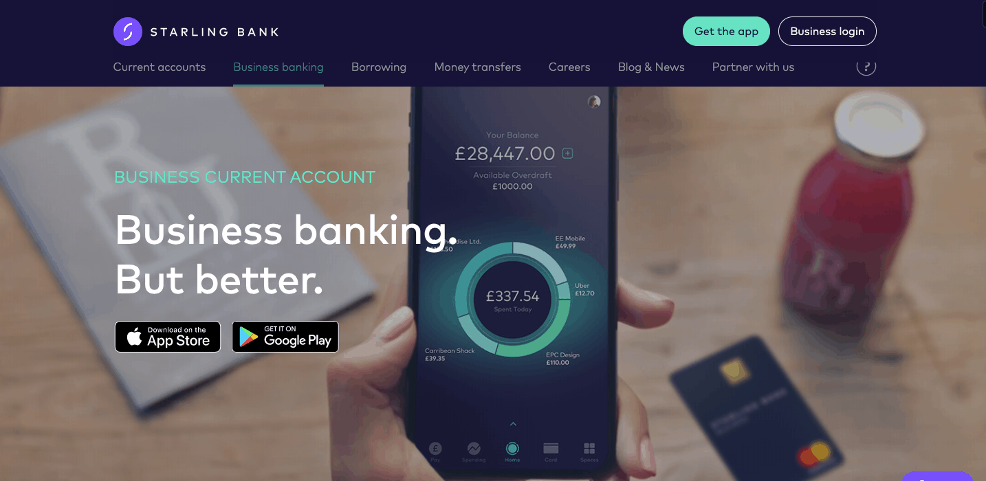 Starling Bank Business Banking