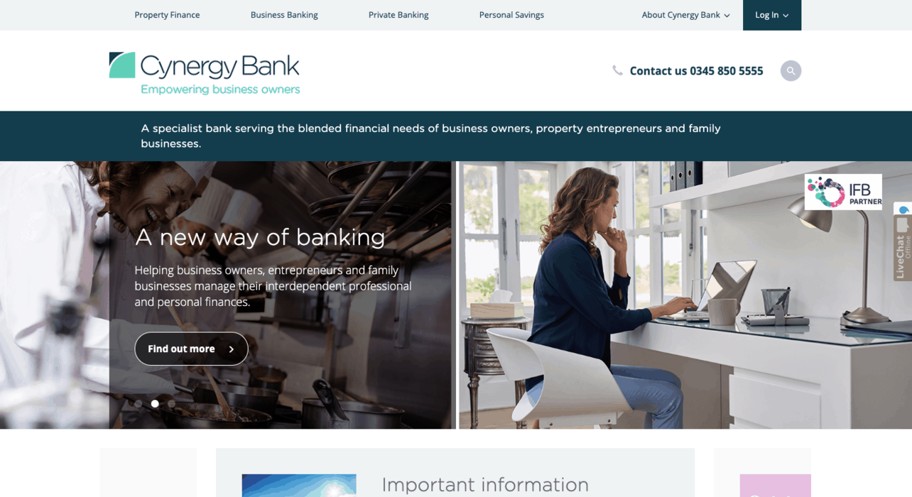 Cynergy Bank Business Banking