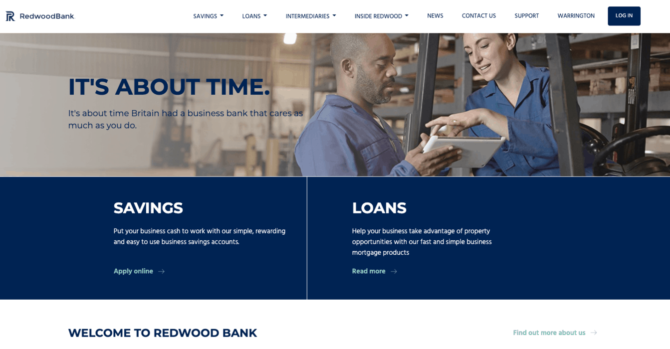 Redwood Bank Business Banking