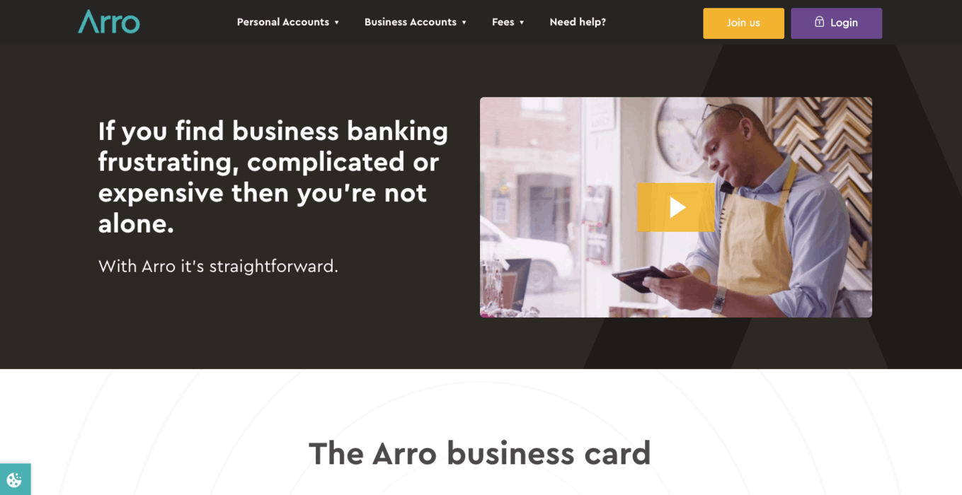 Arro Business Banking
