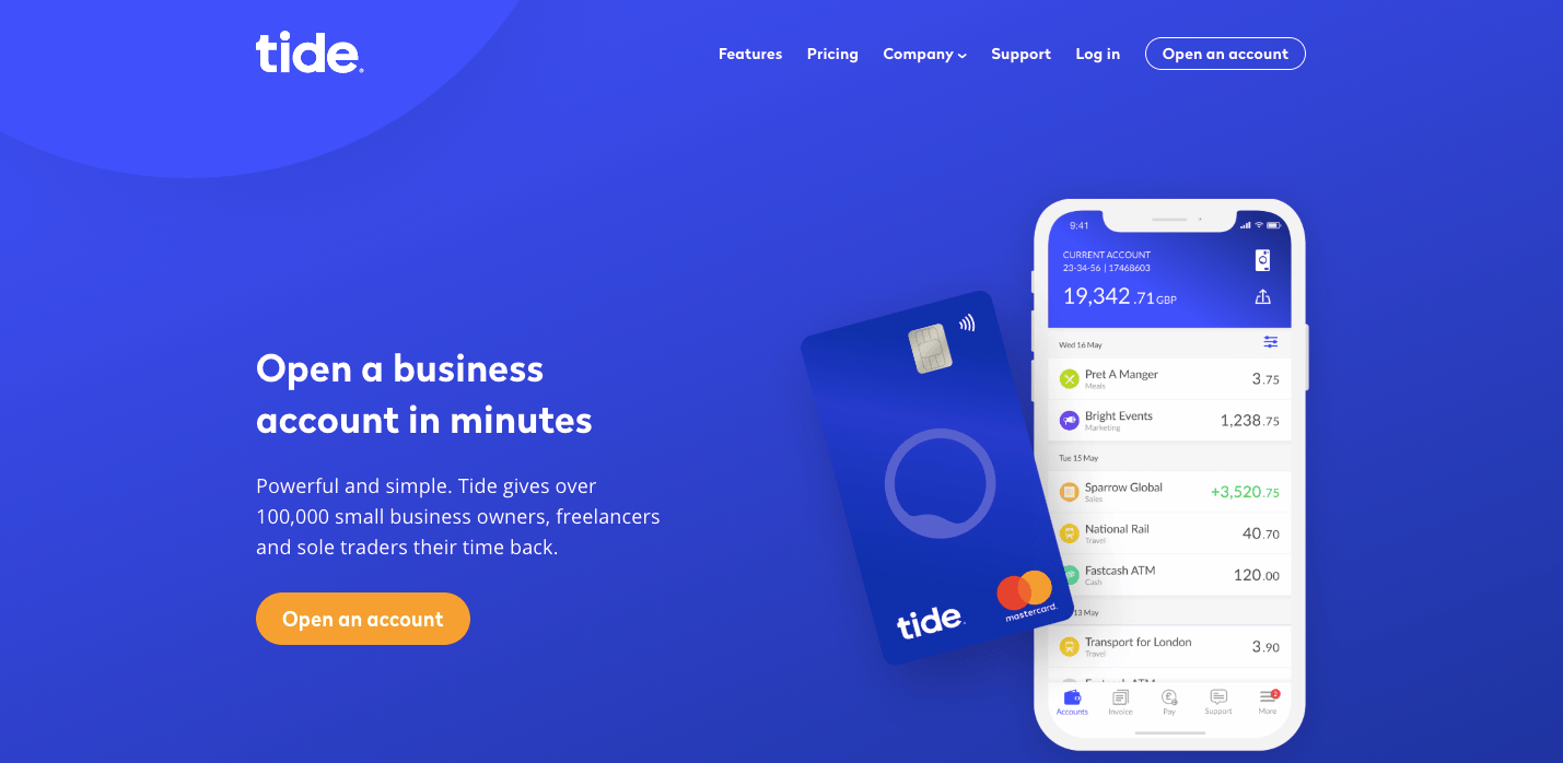 Tide Business Banking